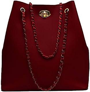 Envias Women's Handbag (Maroon)