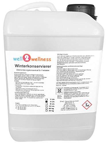 well2wellness Schwimmbad Winterkonservierer/Pool Überwinterungskonzentrat 3,0 l