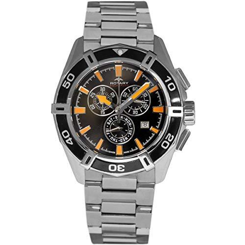 Rotary Herren - Armbanduhr Pacific Chronograph Quarz AGB90088/C/04