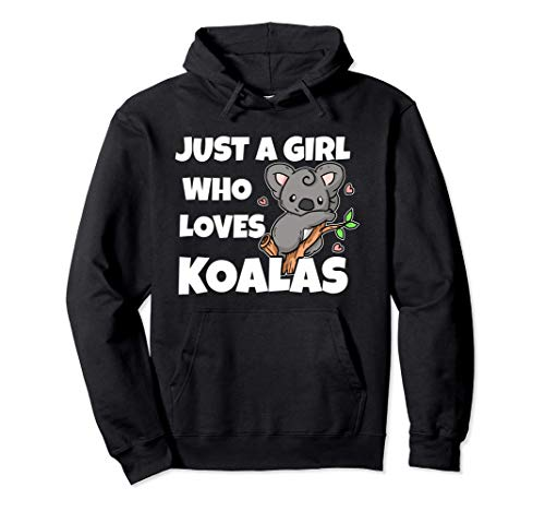 Just A Girl Who Loves Koalas Disfraz De Oso Koala Sudadera con Capucha