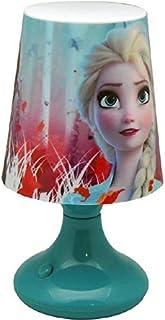 Disney Frozen Escritorio 2 Lámparas ambientadoras Anillos de Bombilla Decoración del hogar Unisex Adulto, Multicolor (Multicolor), única