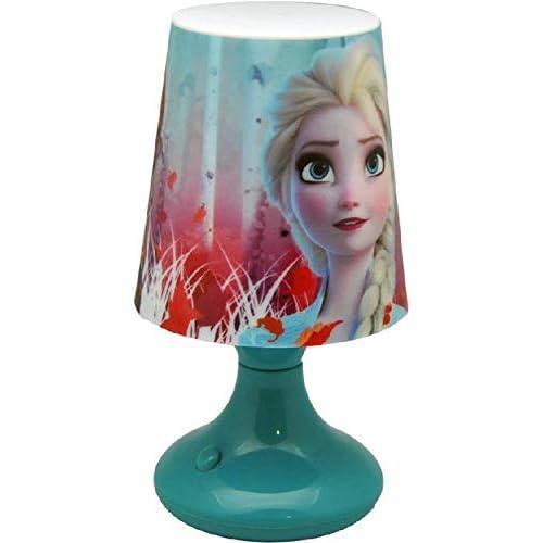 Frozen - Lampada da scrivania con 2 lampade profumate, per la decorazione della casa, unisex, per adulti, multicolore, unica
