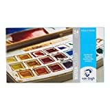 24 color set plastic case case Van Gogh watercolor solid (japan import)
