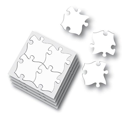 Wiemann Lehrmittel Blanko-Riesen-Puzzle - Puzzle selber gestalten, 32 Teile, Größe Puzzleteil: 10,5 x 10,5 cm