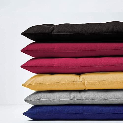 Bankkissen für 2- und 3-Sitzer, Gartenbank-Sitzkissen, 100/110/120 cm, für drinnen und draußen, Esszimmer-/Terrassen-Schaukel, 100 x 40 cm, grau