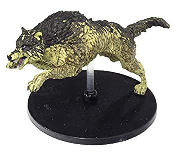 D&D Icons of The Realms  Waterdeep Dragon Heist - Dire Wolf #031