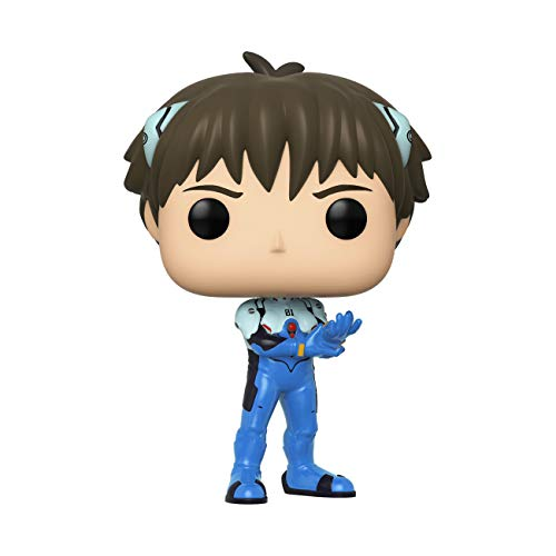 Funko- Pop Animation: Evangelion-Shinji Ikari Neon Genesis Collectible Toy, Multicolore, 45118
