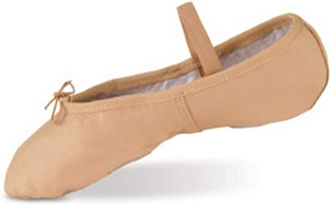 Danshūz Pink Leather Split Sole Shoes