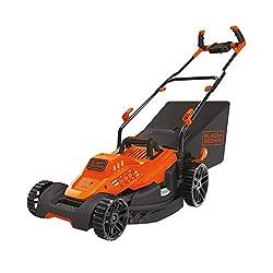 small BLACK + DECKERBEMW482BH Electric lawn mower