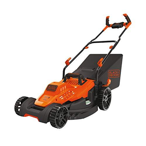 BLACK+DECKER Electric Lawn Mower, 12-Amp, 17-Inch (BEMW482BH)