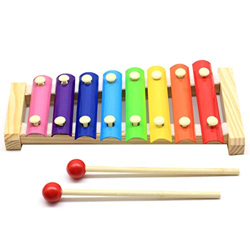 Greatangle Kleinkinder Kinder Oktave Hand klopfen Klavier Frühpädagogik Baby Puzzle Musikspielzeug Holz klopfen Klavier