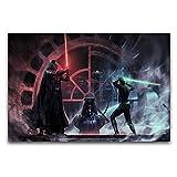 BAIFAWA Star Wars Darth Vader vs Luke Skywalker Moderne