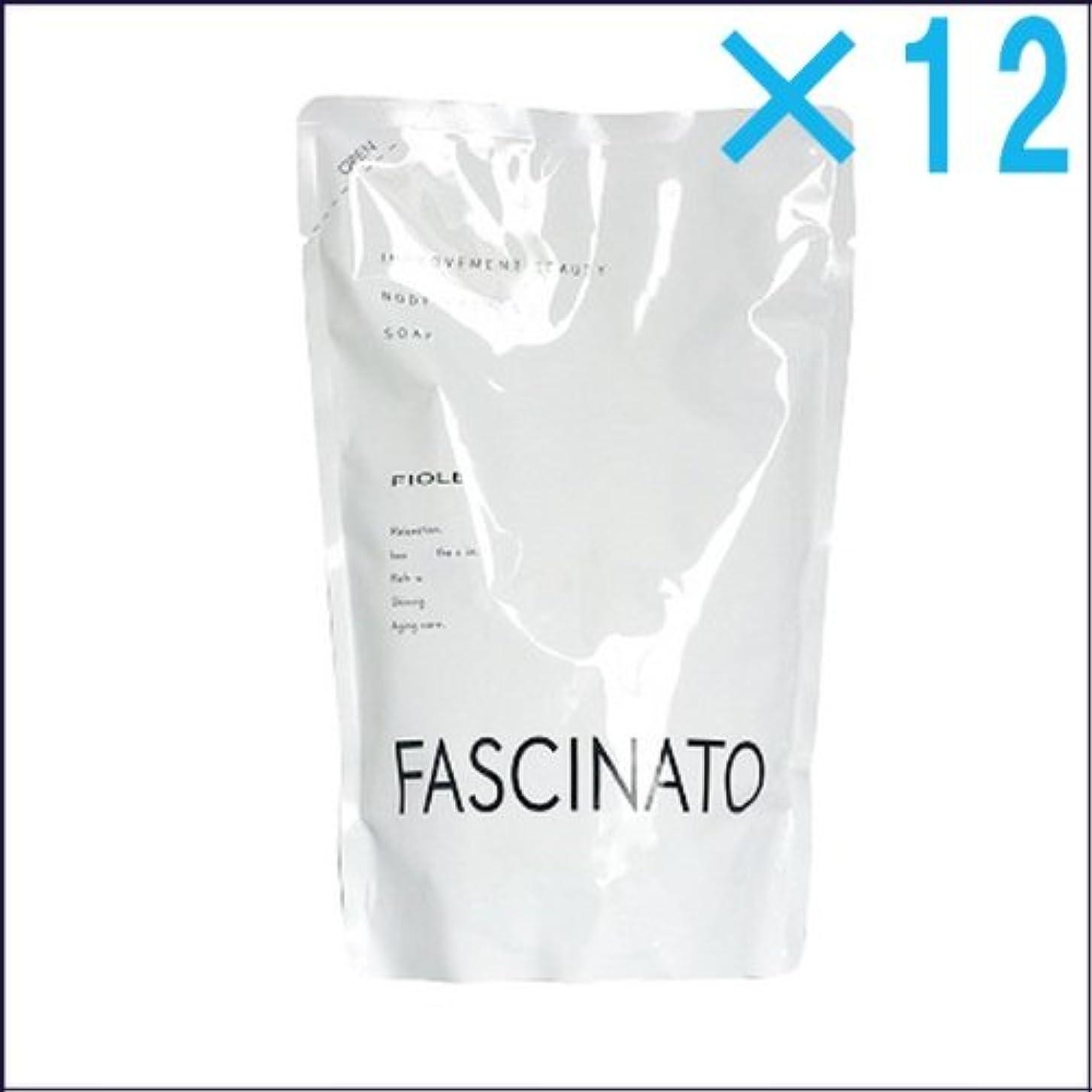 農民原油精緻化【×12個】ファシナート ボディソープ 500ml(レフィル)