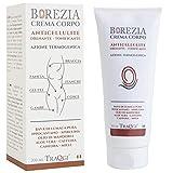 BOREZIA Crema Anticellulite Snellente Rassodante Forte Corpo 200 ML BIO EFFETTO LIFTING Bava di Lumaca Alga Sprirulina Caffeina ed Estratto di Ginkgo Biloba. 100% Made In Italy.