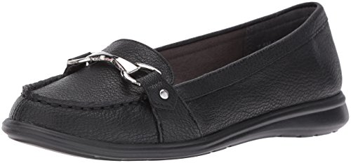 Aerosoles A2 Women's Time Limit Slip-On Loafer, Black, 6 M US