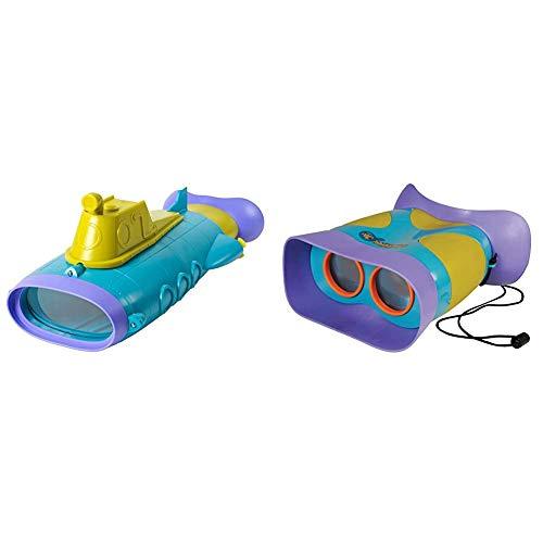 Educational Insights GeoSafari Jr. SubScope Bundle GeoSafari Jr. Kidnoculars: Kids Binoculars - Perfect for Preschool Science
