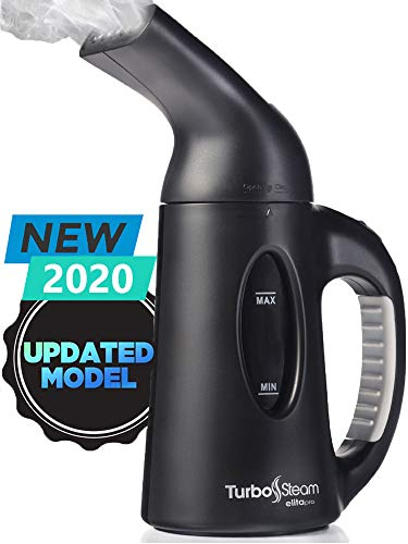 Steamer for Clothes Travel Size Elita Pro Compact Design, Heats up in 45 Seconds, Dry Steam, Handheld Garment Wrinkle Remover, Portable Mini Steam Iron Clothing and Fabric
