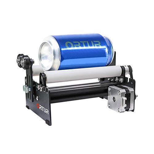Brushes Máquina de Grabado OrTur Mádulo de Grabado de Rueda giratoria de Eje y Usado para Grabar latas cilíndricas