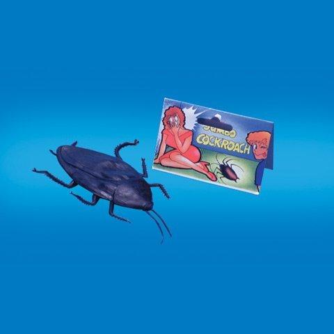Loftus Jumbo Giant Fake Cockroach Prank-gag
