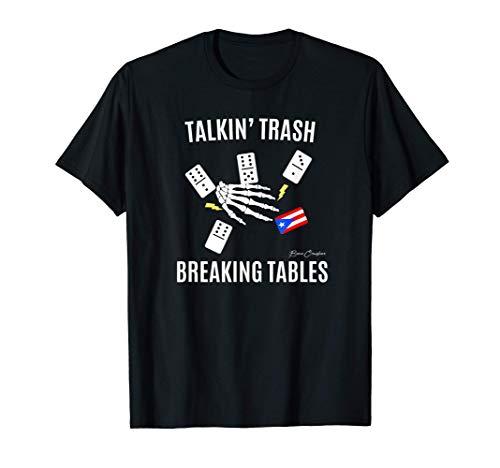 DOMINOES Shirt | Puerto Rico Flag T-Shirt T-Shirt
