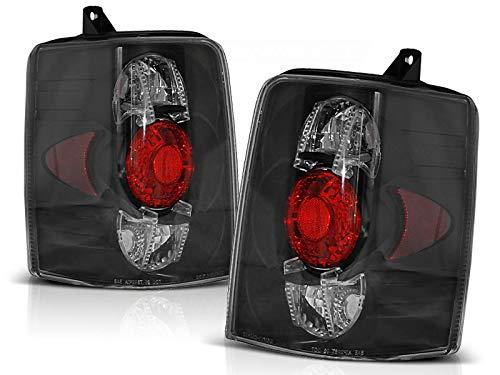 Lot complet de feux arrière compatibles avec Chrysler Jeep Grand Cherokee Zj 1993 1994 1995 1996 1997 1998 1999 GV-1803 Noir
