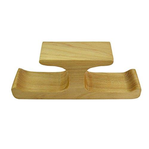 Untertisch-Halterung aus Holz mit selbstklebendem Kleber, für Zuhause und Büro