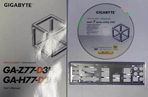 Gigabyte GA-Z77-D3H - Handbuch - Blende - Treiber CD #307633
