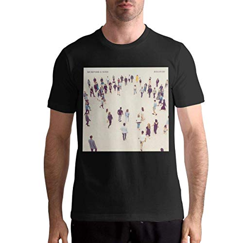 fghjfgdjhfd Camisetas de béisbol para Hombre,Camisetas para Hombres,Mumford & Sons Beloved Mens Round Neck T-Shirt Personalise Baseball tee