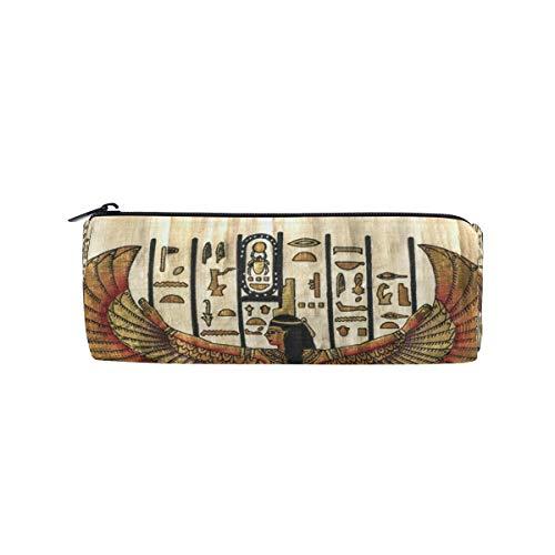 Crayon Sac Stylo Etui Poche Art Antique Maquillage Égyptien Cosmétique Ronde pour Filles Garçons École De Voyage