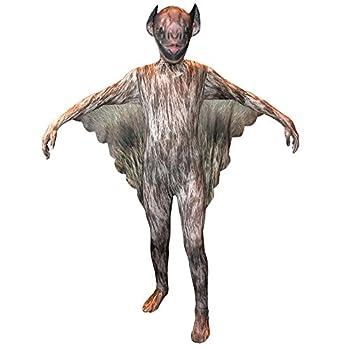 Morphsuits Vampire Bat Kids Animal Planet Costume - Size Large 4 -4 6  120cm-137cm