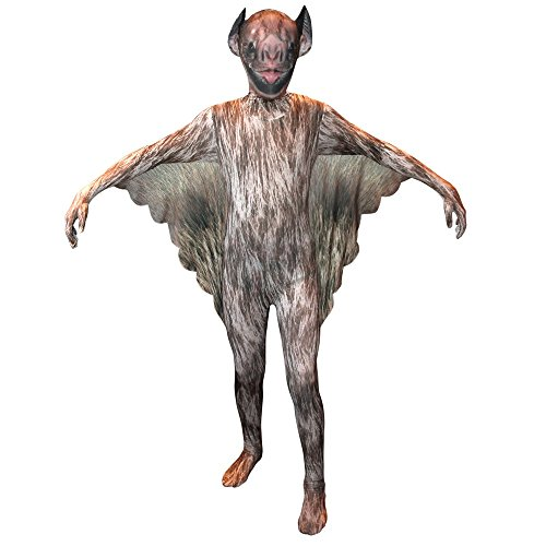 Vampire Bat - Animal Planet Morphsuit para Niños - Childerns Disfraz - Grande - Edad 10-12 (137-152cm)