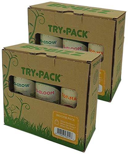 BioBizz - Try-Pack Indoor - Mega Pack - 3 x 500ml (6 flaconi da 250ml)