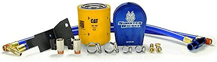 Sinister Diesel Coolant Filtration System (W/CAT) for Ford Powerstroke 2008-2010 6.4L