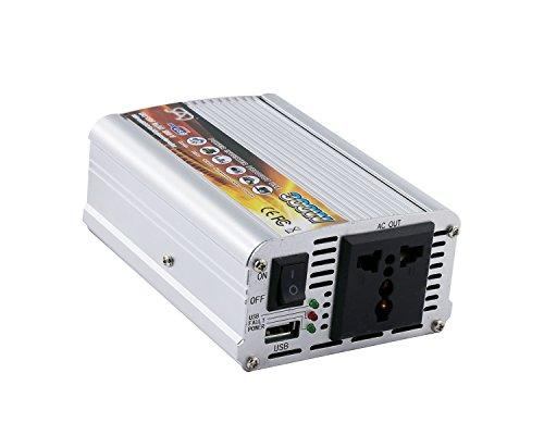 300WATT CAR POWER INVERTER DC 12V TO AC 220V CONVERTER WITH USB Charger