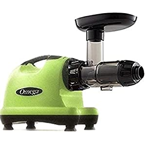Omega J8006 Nutrition Center Quiet Dual-Stage Slow Speed Masticating Juicer Creates Continuous Fresh Healthy Fruit and… |