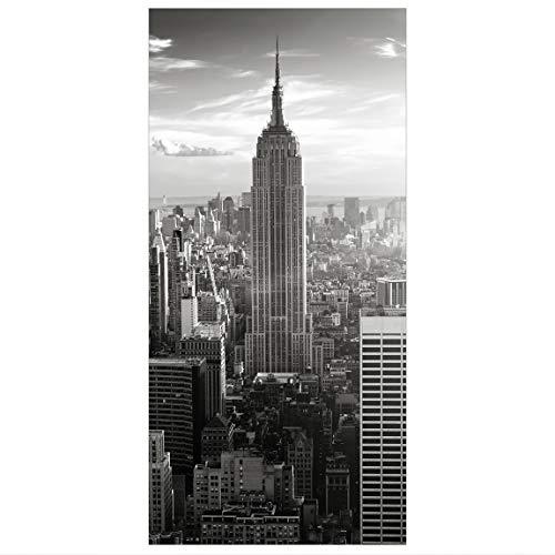 Bilderwelten Raumteiler Manhattan Skyline 250x120cm inkl. transparenter Halterung