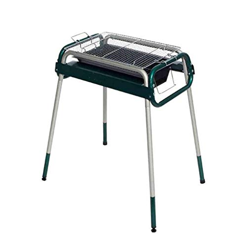 WFFF Barbecue Grill, Stainless Steel Folding Barbecue Grill, Outdoor Charcoal Commercial Barbecue Grill