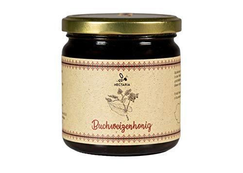 Buchweizenhonig (500 g) I sehr kräftig, aromatisch, wenig süßlich, naturbelassen I Von Familien-Imkereien aus den Karpaten