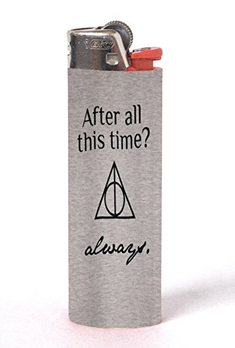 After All This Time? Allways Quote Design Print Image Artwork 2 Pack Vinyl Decal Wrap Skin Stickers by Trendy Accessories for Bic Lighters