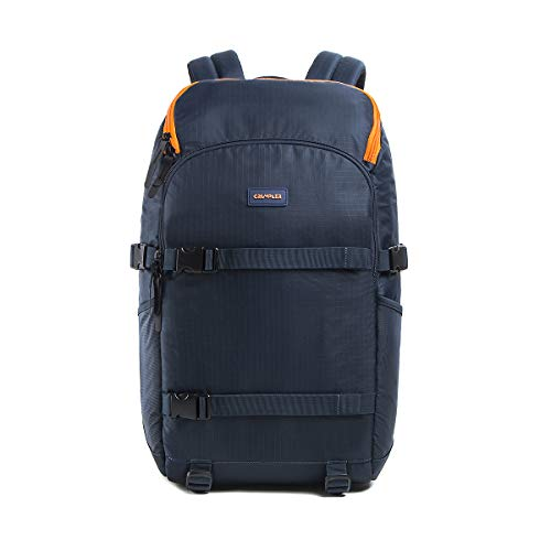 Crumpler The Flying Duck Camera Full Backpack FDCFBP-004 - Mochila multifunción para portátil de 13' (25,5 L), Color Azul Oscuro
