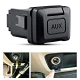 AORRO Auxiliary Port Replacement for Honda Civic 06-11, CRV 09-11, Acura MDX 08-09, TL 07-08, Aux Input Jack Stereo Adaptor 39112-SNA-A01