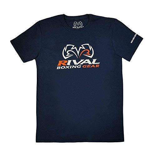 Rival Boxing Corpo Navy T-Shirt, Blu marino, blu, L