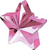 amscan 117800-06 Ballongewicht Stern 170 g, Rosa