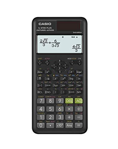 Casio FX-87DEPLUS-2 - Calculadora científica escolar