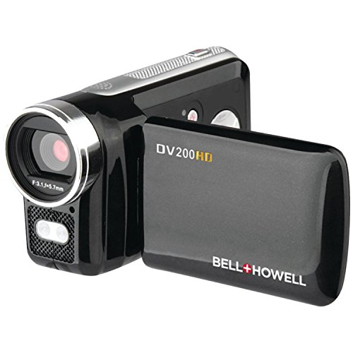 bell howell cheap camcorders Bell + Howell DV200HD Digital Camera with 2-Inch LCD-Screen, Black