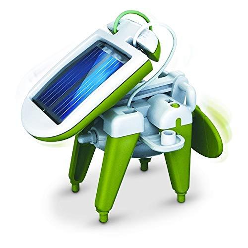 Robot solaire 6 en 1 design et futuriste jeu insolite marrant drole