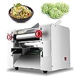 NEWTRY 2000W Electric Commercial Pasta Maker Machine Dumpling Dough Noodle Skin Maker Multi-function Noodle Pasta Spaghetti Roller Pressing Machine (Round noodles blade 2mm)