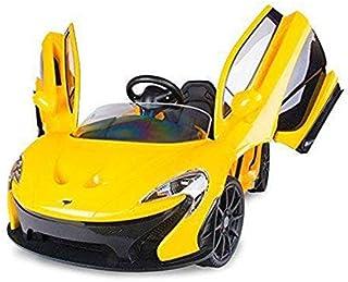 Dorsa Mclaren Electric Kids Ride On Car, Yellow