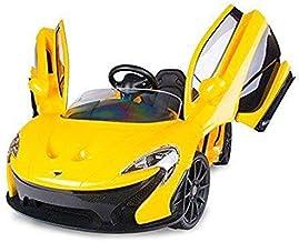 سيارة ماكلارين كهربائية للأطفال . اصفر
