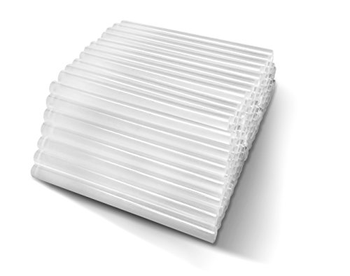 Amdai 100 Barras de Silicona - Pegamento Transparente 7 mm de Diámetro